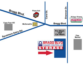 Bragg blvd climate controlled storage self storage facility we are behind pro wash usa car wash next to the bragg blvd flea market solutioingenieria Image collections